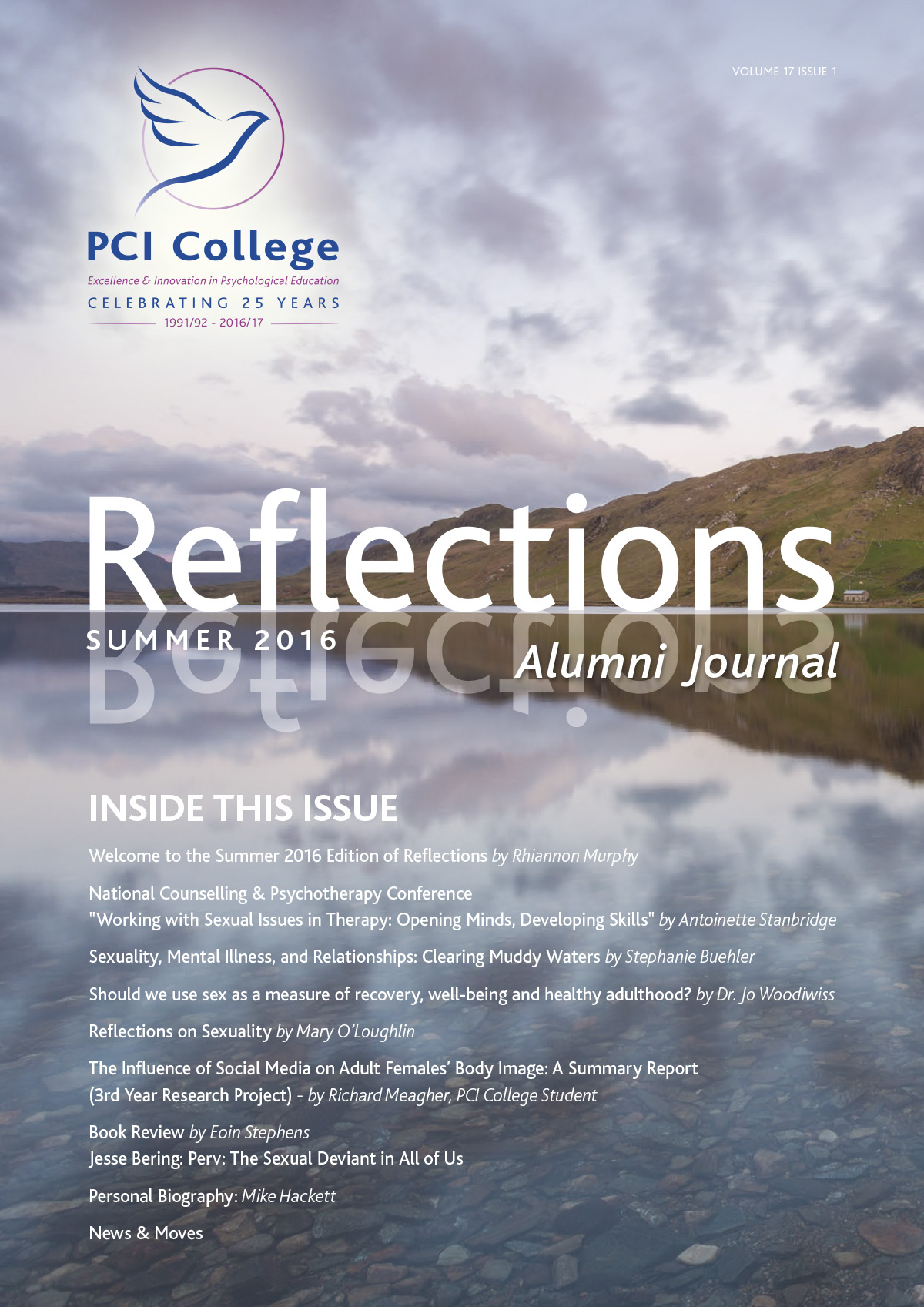 Reflections Summer 2016 Cover